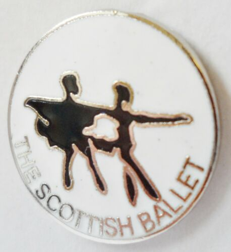 0647 Scottish Ballet Glasgow Scotland Small Pin Badge