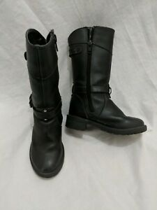 Girls Calf Boots Shoes Size Infant 7