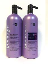 Oligo Blacklight Blue Shampoo & Conditioner For Blonde Hair - 33.8oz LITER DUO