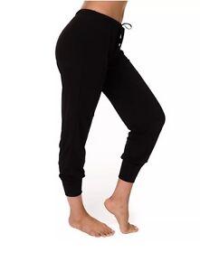 32911eec8b004 NWT Onzie Women's Sweatpants Jogger Yoga Pants Black M/L   eBay