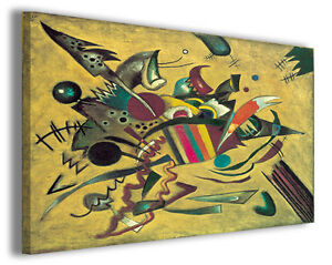 Quadro Wassily Kandinsky vol X Quadri famosi Stampe su tela ...