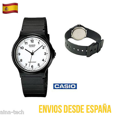 Reloj CASIO De Pulsera Analógico Vintage Correa Sintética MQ-24-7BLL