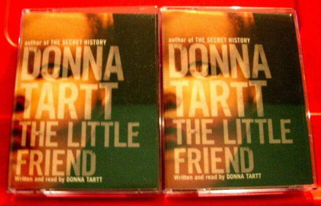 Donna Tartt Reads The Little Friend 4-Tape Audio Book Mystery/Thriller