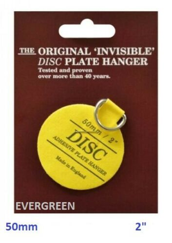 Plaque disque invisible Photo pendaison BACK STICK Hook Hanger autocollante NEUF