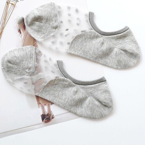 Mode Frauen Damen Baumwolle Spitze Unsichtbare no Show Weiche Low Cut Socken
