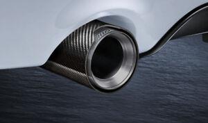 Original BMW M Performance Endrohrblenden SET Carbon 2er F22 F23 18302355889