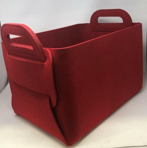 Storage Basket Felt Storage Bin Collapsible /& Convenient Box Organizer