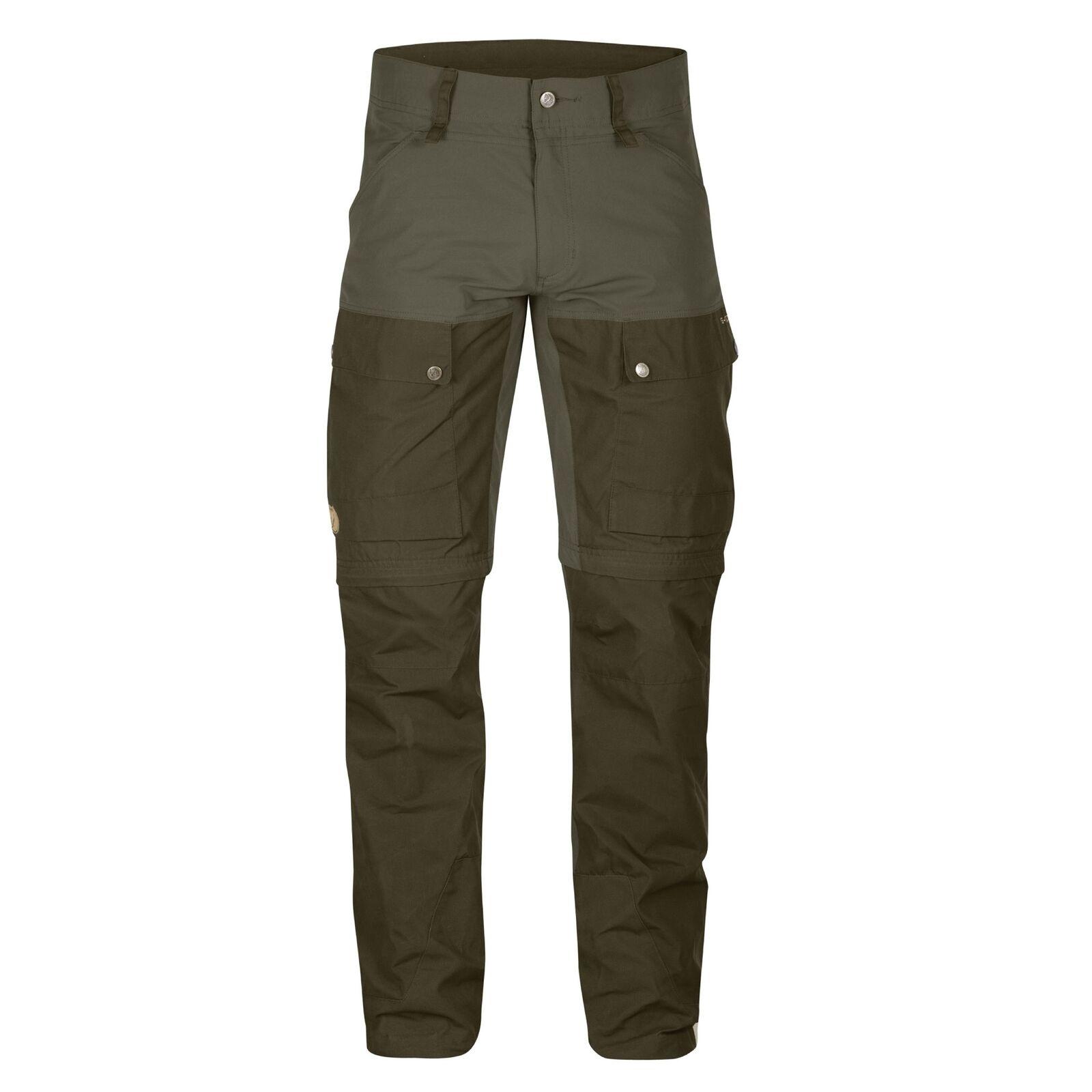 Fjäll Räven Hose Keb Gaiter Trousers 246/633 Gr. 50-56 - Tarmac Zip Off G-1000