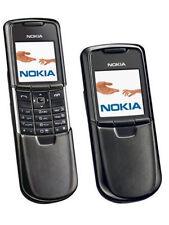 Nokia 8800 Classic Bluetooth FM Slip Cellular Symbian Phone -Unlocked Black