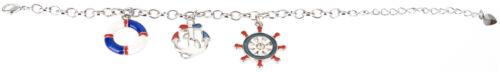 Armband Nautical Sailor ANCHOR Maritim Charm Bracelet