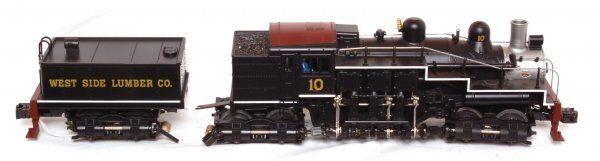 6-28022 West Side Side Side Lumber Shay Steam Engine Lionel 0af2dd