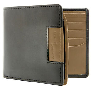 New-Vegan-Faux-Leather-Bifold-Wallet-For-Men-With-FlipUp-Id-Window-RFID-Blocking