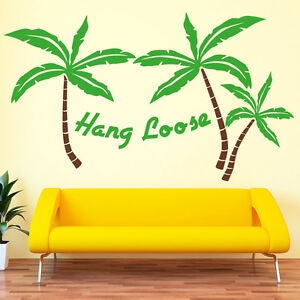 Sticker-mural-ile-hang-loose-Palmiers-Caraibes-Stickers-muraux-10087