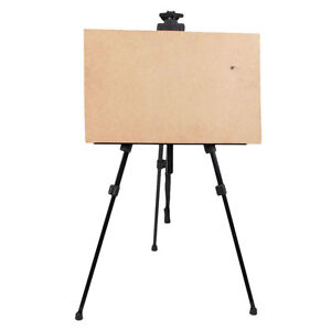 Adjustable Artist Aluminium Alloy Tripod Painters Easel Stand White board Bag US