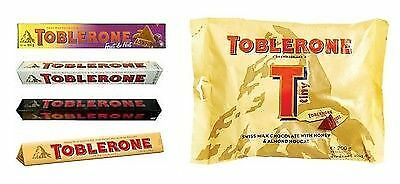 Toblerone Fruit Nutdarkwhite Chocolate 100g Tiny Milk Chocolate Bag 200g