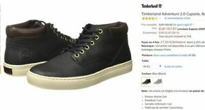 Chaussures cuir Timberland Adventure 2.0 Cupsol Bottes Homme Taille 44.5 NEUF