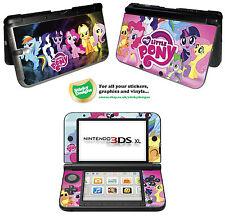 Mi Pequeño Pony Piel de vinilo adhesivo para Nintendo 3ds Xl