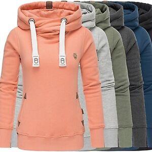 Details zu Navahoo Kapuzenpullover Damen Hoodie Sweatjacke Sweatshirt Kordel Sweater Namkaa
