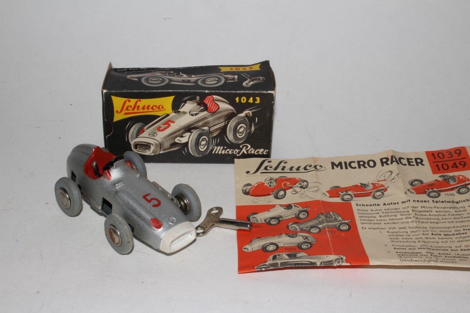 Schuco  1043  Micro Grand Prix Racer avec Orignal Boîte, Agréable  réductions incroyables