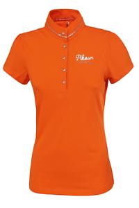 Pikeur Mina Womens Polo Shirt - Mandarin