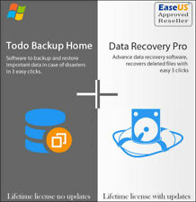 Easeus Data Recovery 145 Todo Backup 132 Lifetime Upgrades