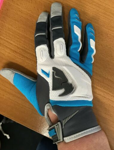 Thor Racing Phase Womens Offroad Motocross  Race Gloves Blue Grey Adults Medium