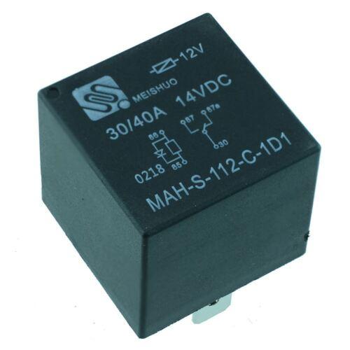 12 V Relé de automoción cambio con diodo 40 A 5-Pin SPDT