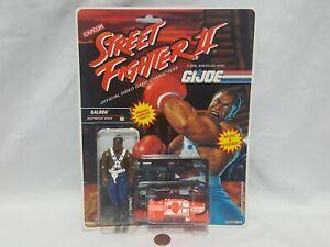 NEW G.I. Joe Street Fighter II BALROG Figure SEALED heavyweight boxer gi jo sf 2