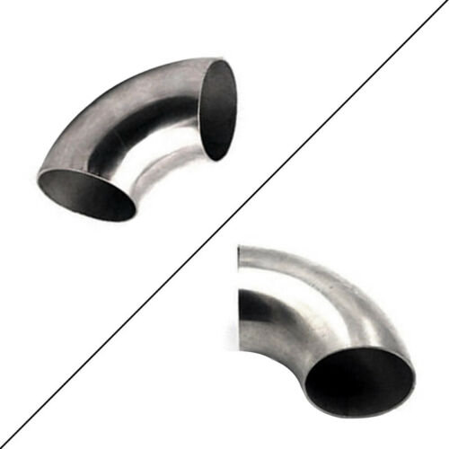 """2.5/""""inch//63mmStainlessSteel90DegreeBendElbowPipeThickness1.5mm Excellent"""