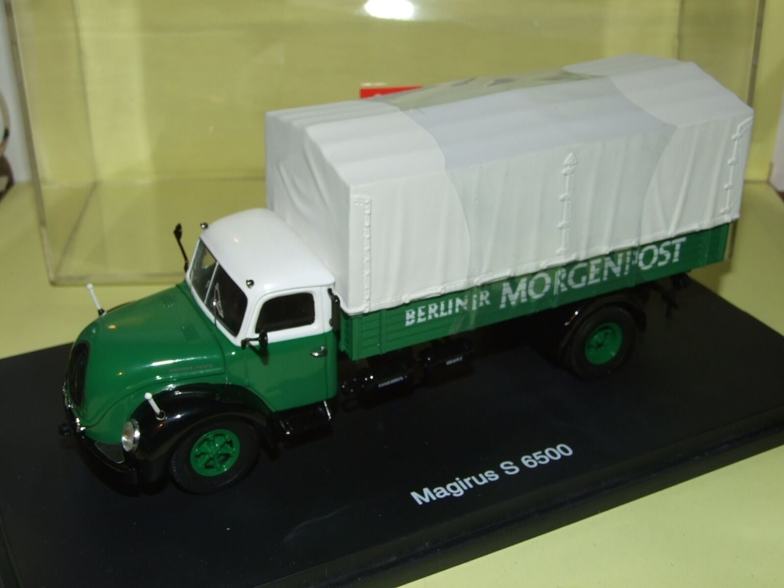 MAGIRUS DEUTZ S 6500 MORGENPOST SCHUCO 1 43