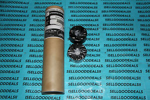 (10) Tiflex Plastic-Ink Type RX 63,5 X 25,4 MM Length 25MM Black New