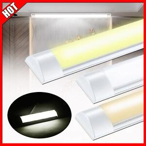 LED Feuchtraumlampe Garage Deckenleuchte Wannenleuchte 30//60//90//120cm Röhre