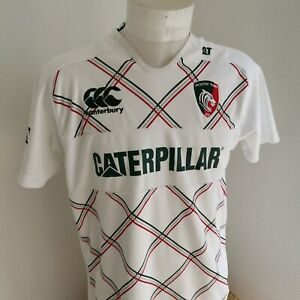 maillot-de-rugby-Leicester-TIGERS-marque-canterbury-taille-L