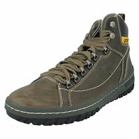 Caterpillar Active Equipment 'apa Hi' Men's Muddy Leather Nubuck Lace Up Boots