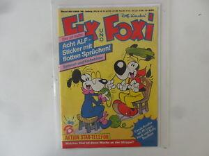 à Condition De Geert-rolf Kauka-fix Et Foxi-volume 49/1988-avec Supplément-état: 1 --afficher Le Titre D'origine Prix ModéRé