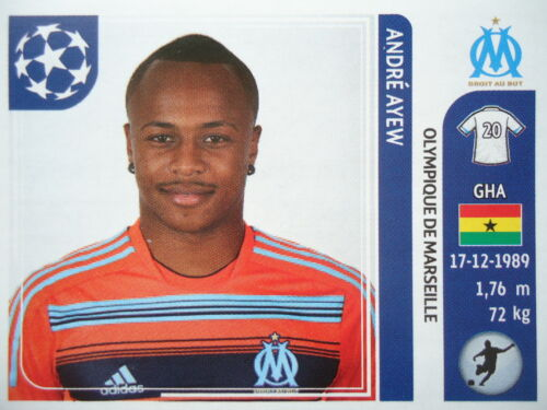 Panini 376 Andre Ayew Olympique Marseille UEFA CL 2011//12