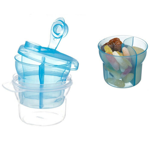 Baby Infant Milk Powder Formula Dispenser Container Storage Feeding Box shan