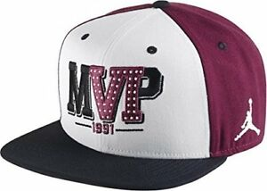 7ccc6f7d NIKE AIR JORDAN 6 VI MVP Maroon ONE SIZE FIT ALL SNAPBACK HAT 686951 ...