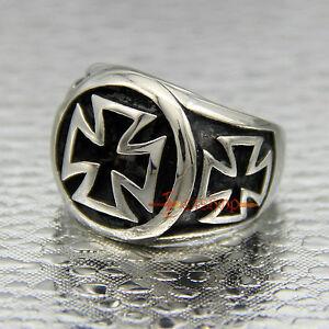 Iron Cross Bikers Ring