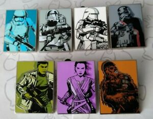 Star-Wars-The-Force-Awakens-Mystery-Collection-Set-2015-Choose-a-Disney-Pin