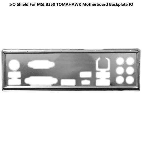 I//O Shield For MSI B350 TOMAHAWK Motherboard Backplate IO MA