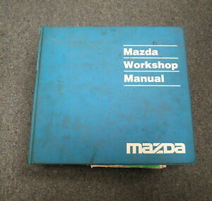 1993 Mazda MX-3 Service Repair and Wiring Diagrams Manual ...