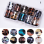 10Pcs-Holographic-Nail-Foil-Set-Transparent-Starry-Sky-Nail-Art-Transfer-Sticker thumbnail 29