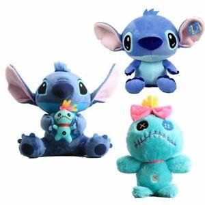 Cute-Lilo-amp-Stich-Scrump-Soft-Stuffed-Animal-Plush-Toy-Kid-Xmas-Gift-Doll-Decor