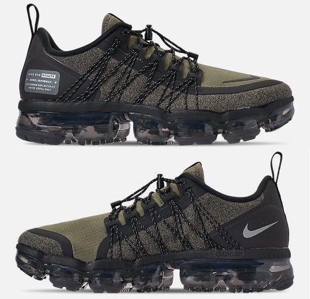 Nike Air Vapormax Run Utilità da UOMO RUNNING verde Oliva - Riflesso argentoo