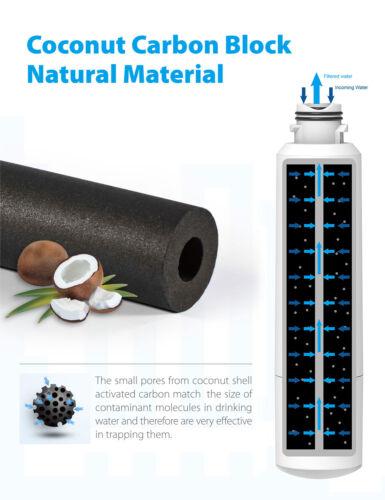 Haf-Cin 6 x Waterdrop Filtro Frigo Ricambio per Samsung Da29-00020b Exp