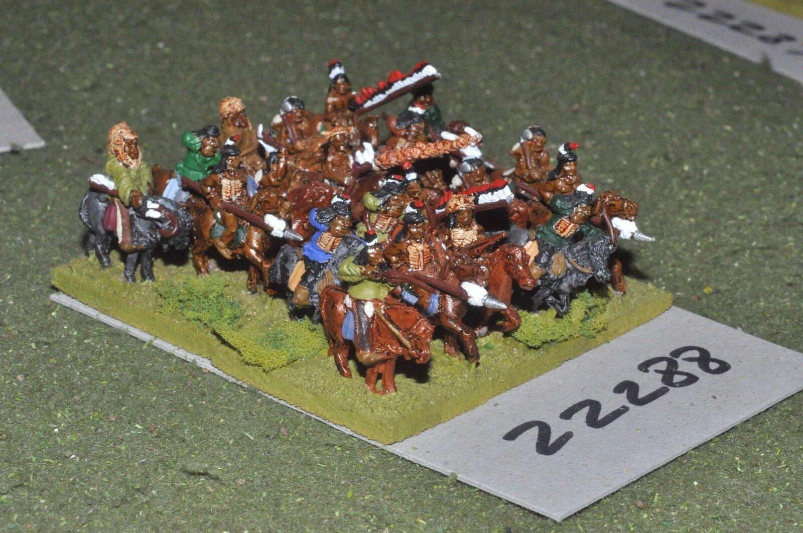 15mm ACW   indian - old west warriors 20 figures cavalry - cav (22288)