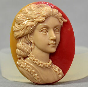 Cameo-lady-11-Silicone-Mould-FOOD-USE-resin-fimo-polymer-clay-mold