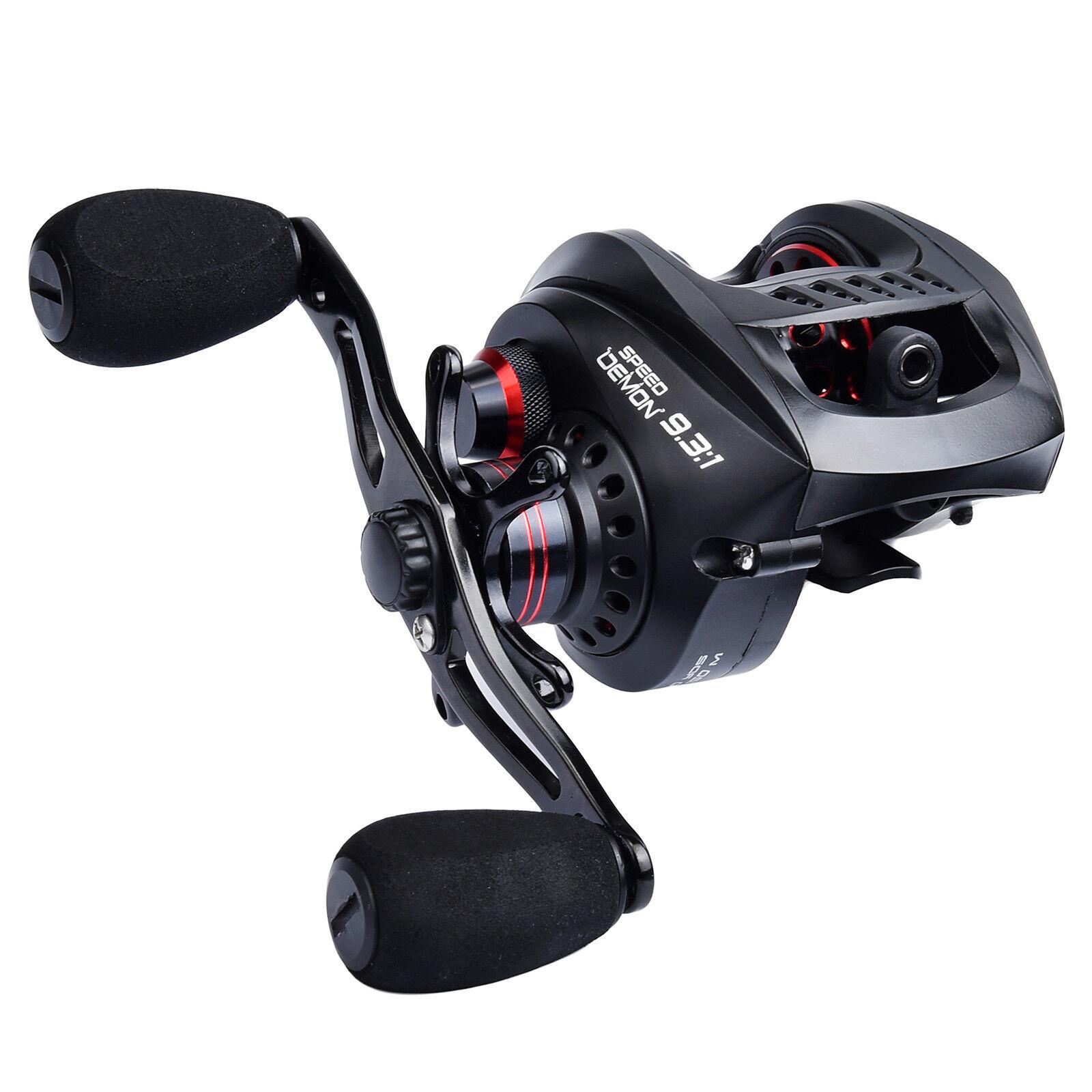 KastKing Speed Demon Baitcasting Reels 9.3 1 Gear Ratio Right Hand Fishing Reel