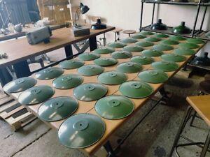 ANCIEN-LAMPE-SUSPENSION-ABAT-JOUR-DESIGN-INDUSTRIEL-METAL-ATELIER-USINE-BAR-LOFT